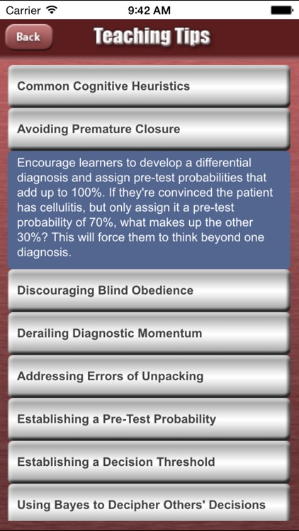 Medicine Toolkit - Teaching Tools for Academic Physicians screenshot-3