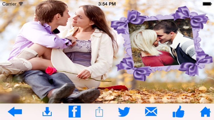Romantic Photo Frames screenshot-4