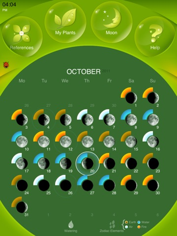 Moon Gardening Light - Grow Plants Better With Moon Phases Screenshots