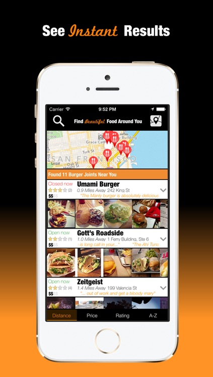 Foodify - Find Beautiful Food Around You