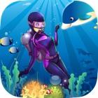 UN Tesoro Submarino Buceo - Profundo Laberinto Aventura icon