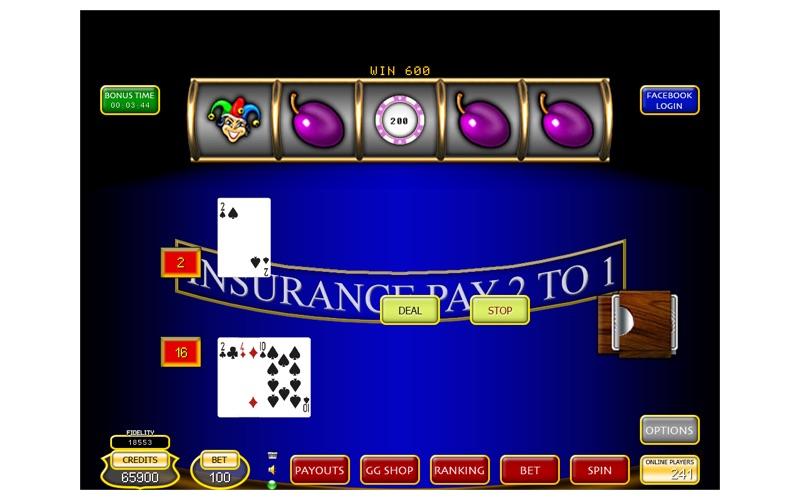 Blue Slot 100 screenshot 2