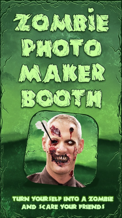 Zombie Photo Maker Booth