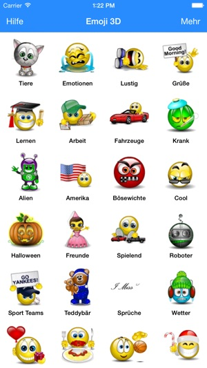 Animierte 3d Emoji Tastatur Im App Store
