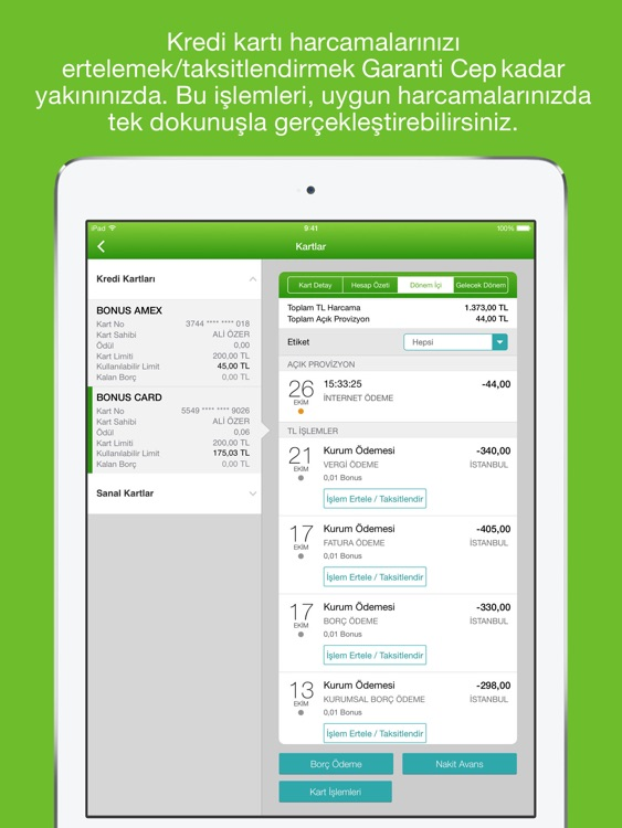 Garanti BBVA Tablet screenshot-3
