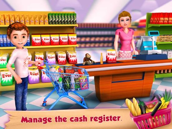 Supermarket Grocery Cashierのおすすめ画像2
