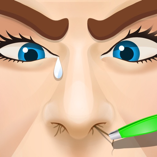 Nose Hair pulling - Free games