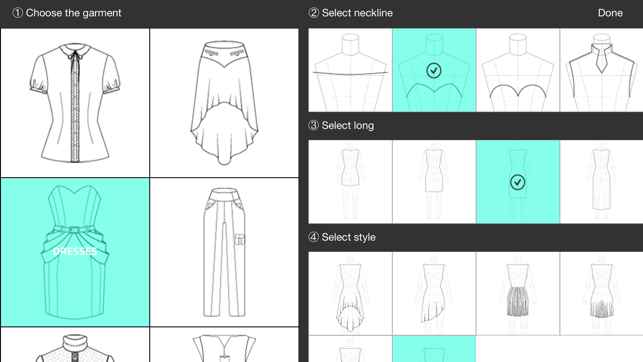 Fashion Design Flatsketch On The App Store