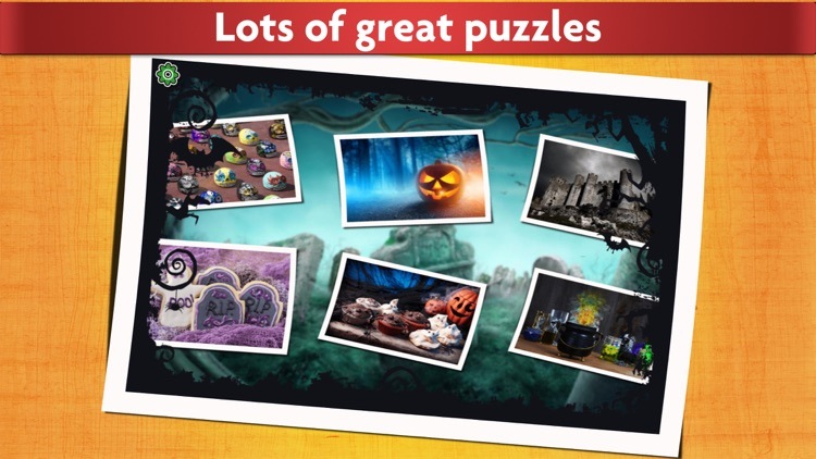 Halloween Puzzles - Relaxing photo picture jigsaw puzzles for kids and adults
