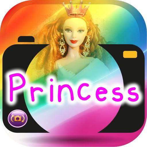 Paint On Photos Princess