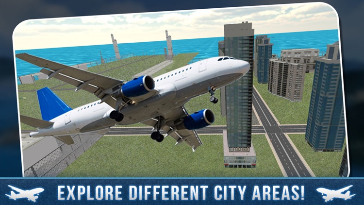Real Airport City Air Plane Flight Simulator screenshot-3