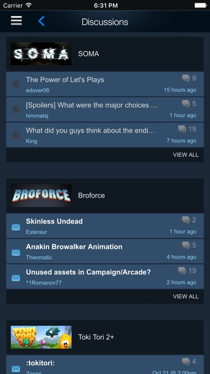 Steam Mobile screenshot-4