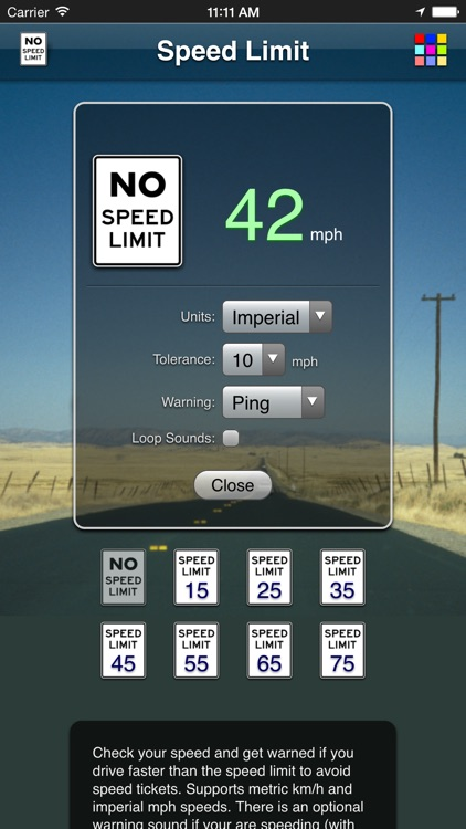 Speed Limit App screenshot-3