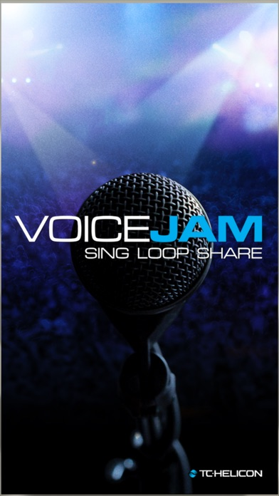 Screenshot for VoiceJam: Vocal Looper - Sing, Loop, Share in Brazil App Store