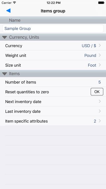 Stock Control Inventory screenshot-3