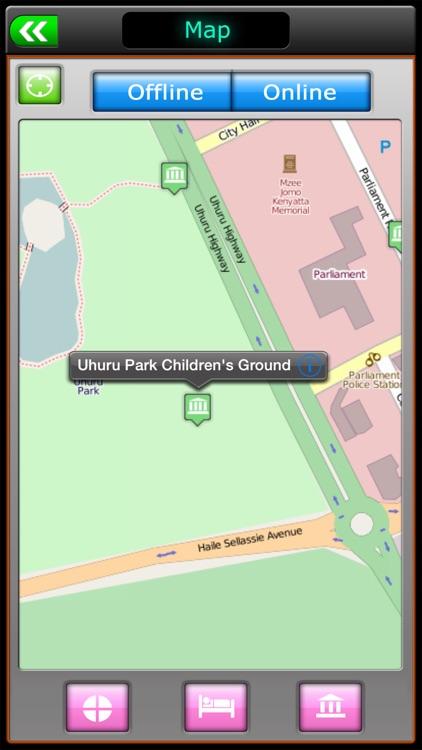 Nairobi Offline Map Travel Guide