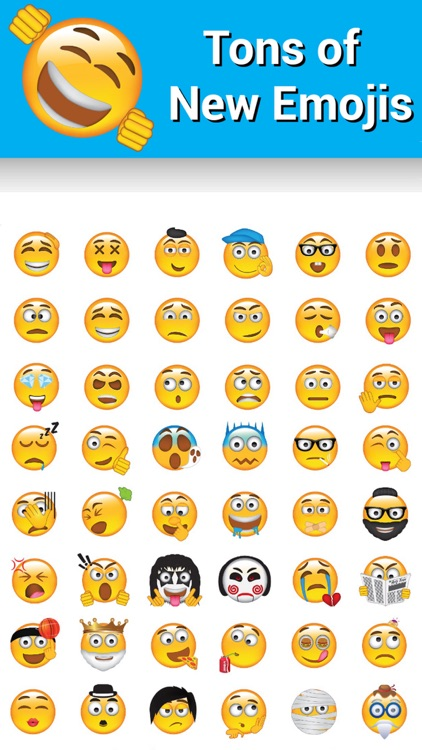 New Emojis Keyboard by Emoji World