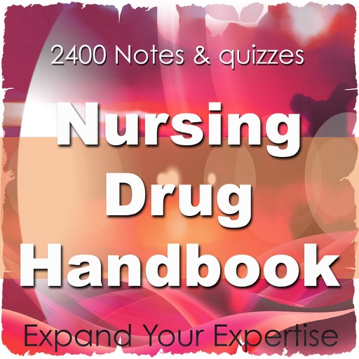 Basics of Nursing Drug Handbook For Self Learning & Exam Review2400 Flashcards
