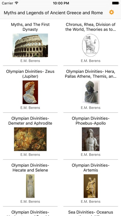 Myths & Legends of Ancient Greece and Rome
