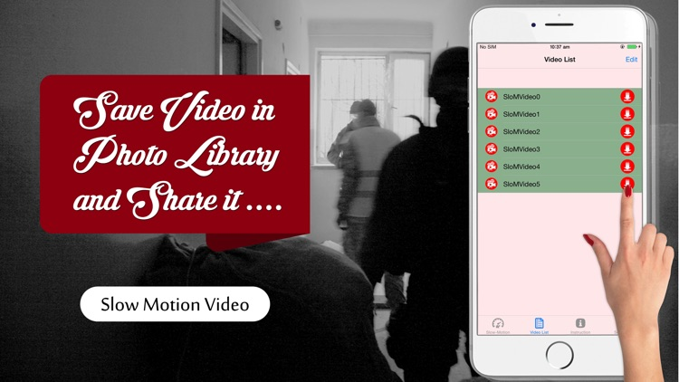 Slow Motion Video Maker - Make slow motion videos or fast motion videos now screenshot-3