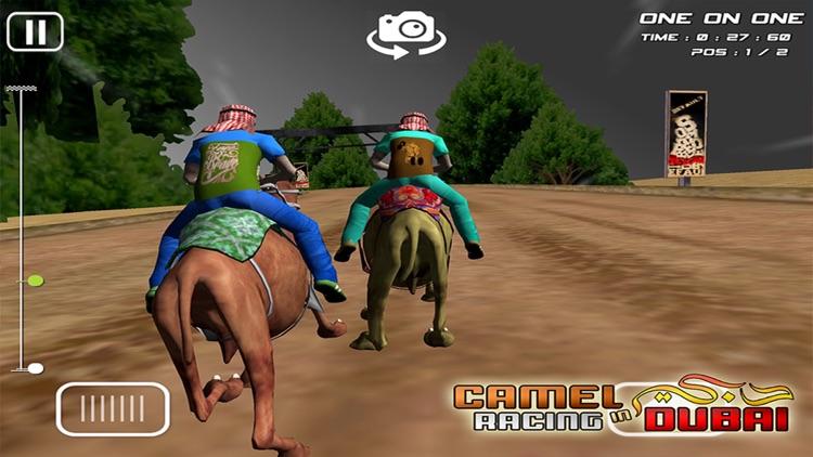 Camel Racing in Dubai - Extreme UAE Desert Race screenshot-4