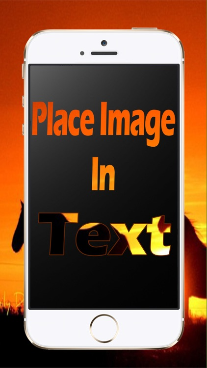 Image in Text - Blend Photo with Text screenshot-3