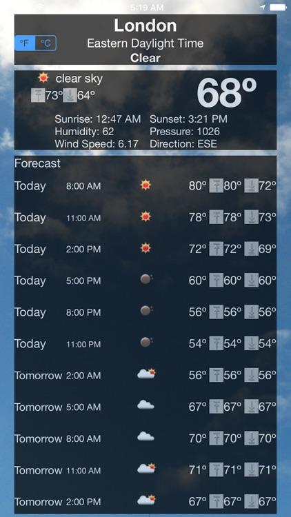 Accurate Weather App screenshot-4