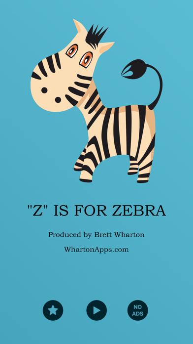 """Z"" Is For Zebra: An Animated Alphabet Book screenshot one"
