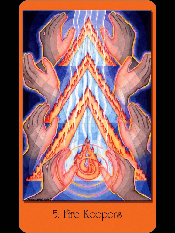 Sacred Geometry Cards for the Visionary Path-ipad-1