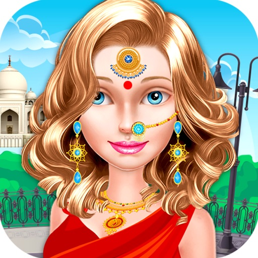 Nail Salon Game Beauty Makeover: Indian Beauty Makeover Salon- Makeup, Dressup & Spa Games