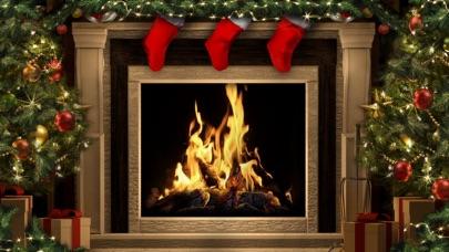 screenshot 6 for amazing christmas fireplaces - Christmas Fireplace Screen