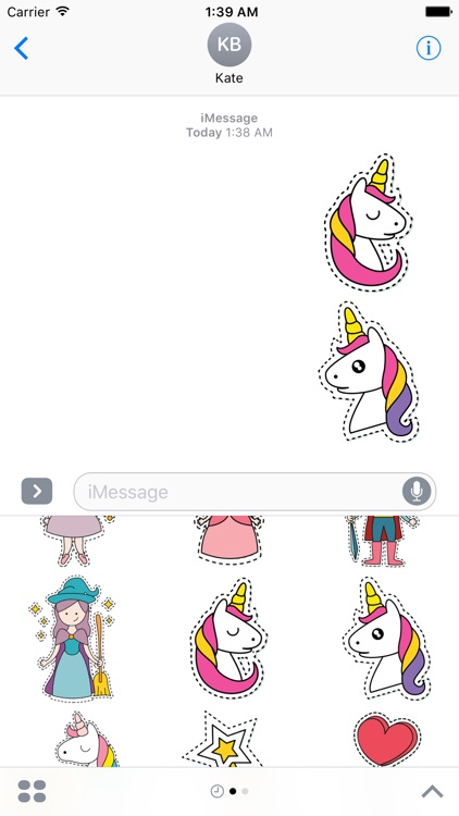 Stickers for princesses