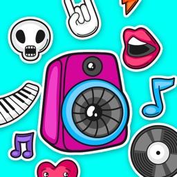 Music - Sticker Pack