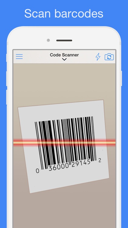 Barcode Reader for iPhone app image