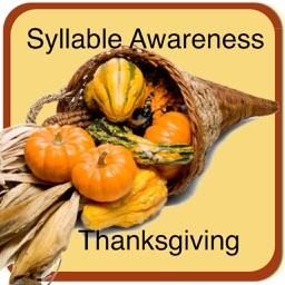 Syllable Awareness - Thanksgiving