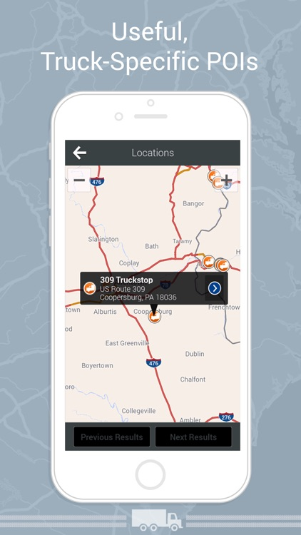 CoPilot Truck HD USA & Canada – GPS Navigation & Truck Routing with Offline Maps app image