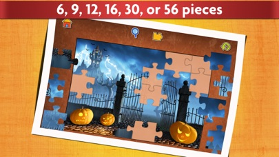 Halloween Puzzles - Relaxing photo picture jigsaw puzzles for kids and adults screenshot two
