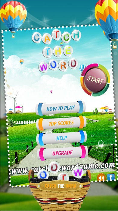 Catch The Word - Learn to Spell Fun Spelling Kids Game screenshot three