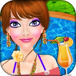 Girls Pool Party Makeover Salon - game for girls
