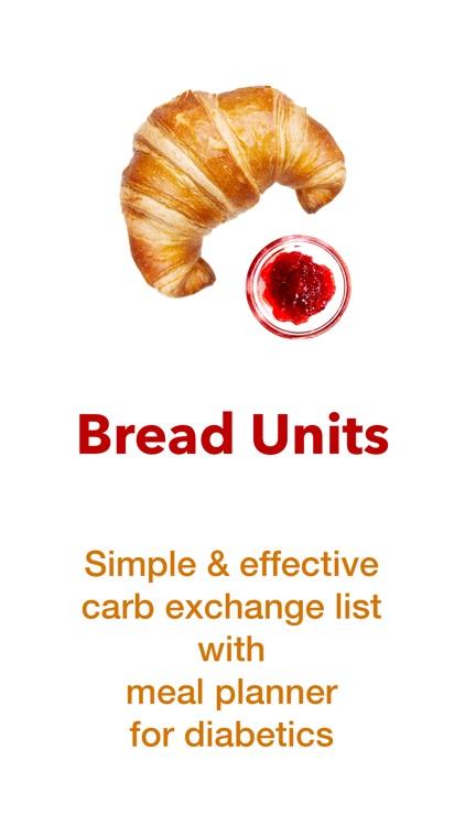 Bread Units Calculator System screenshot-0