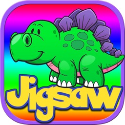Dinosaur Puzzles Games Free - Dino Jigsaw Puzzle Learning Games for Kids Toddler and Preschool