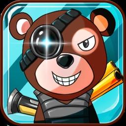 大熊二熊保卫战-两只笨熊保卫森林-玩法简单、关卡超多-经典玩法
