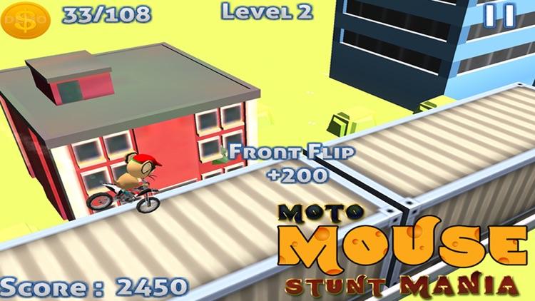 MOTO MOUSE STUNT MANIA - ( 3D DIRT BIKE RACING GAME ) screenshot-0