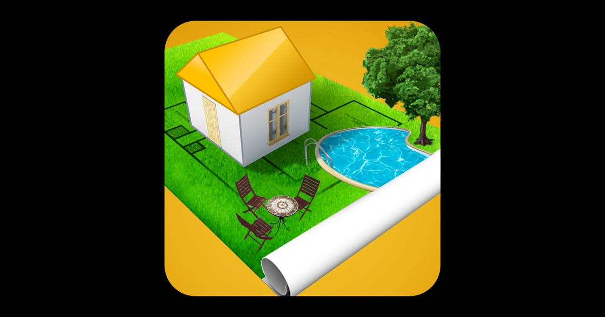 Home design 3d outdoor garden on the mac app store for Home design app for mac