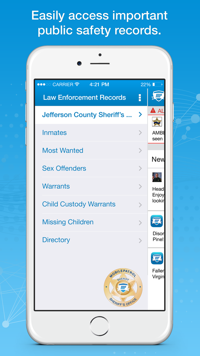 MobilePatrol: Public Safety Screenshot
