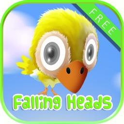 Falling Farm Heads FREE - Selfie Zoo Puzzle