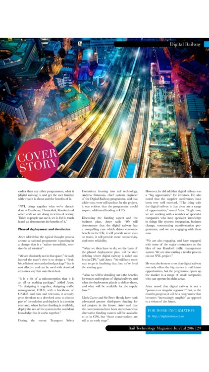 Rail Technology Magazine screenshot-4