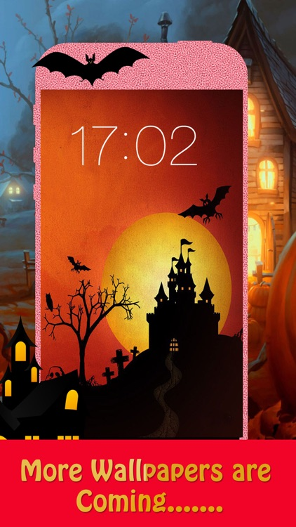 Halloween Backgrounds & Wallpapers HD - Home Screen Maker with Pumpkin, Horror ,scary Images screenshot-4