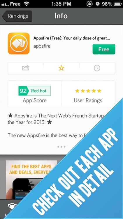 Appstatics: Track App Rankings for iPhone & iPad screenshot-3