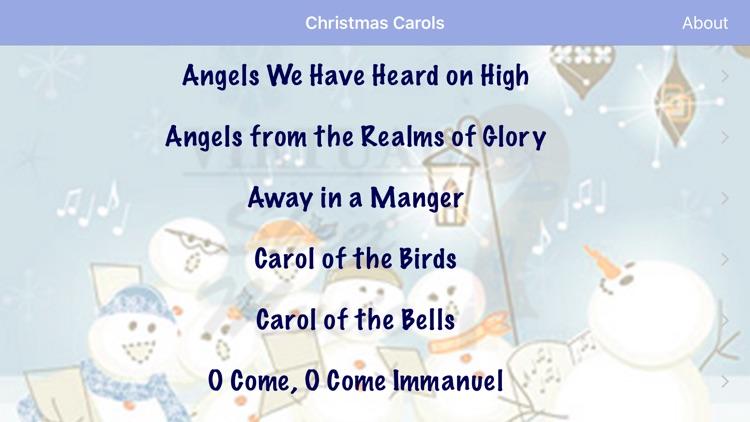 VSMCarols Christmas Sheet Music screenshot-3